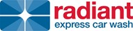 Radiant Express Car Wash Company Logo